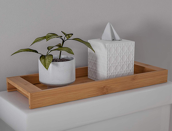 Bamboo Bathroom Vanity Tray Manufacturer